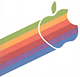 apple dos logo mini
