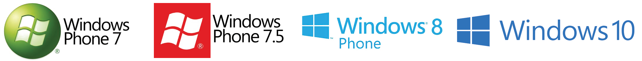 windows mobile logos