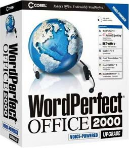 corel wordperfect 2000 package