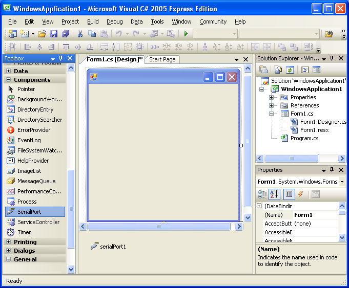 vs2005csharp express