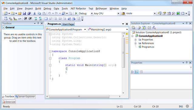 vs2008csharp