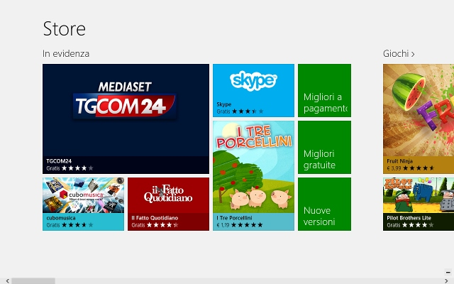 windows8 marketplace