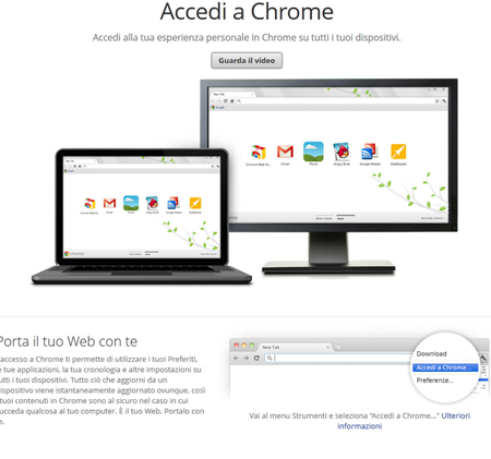 chrome v16 accediachorme